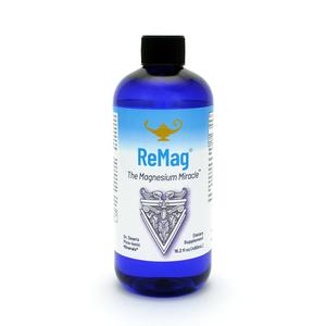 ReMag - The Magnesium Miracle | Magnesio líquido pico-iónico de la dra. Dean - 480ml