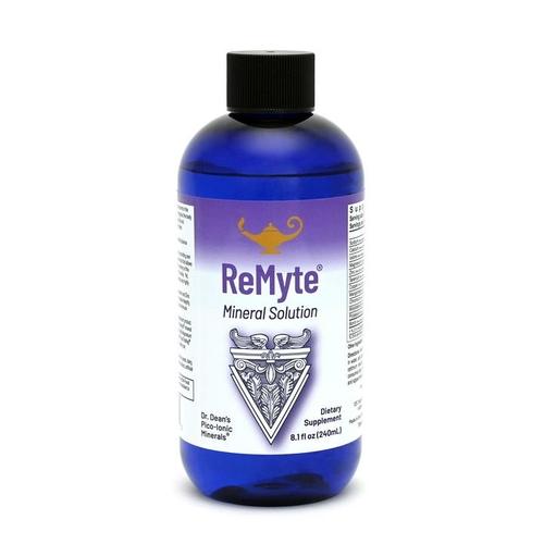 ReMyte - Solución mineral | Solución multimineral pico-iónica de la dra. Dean - 240 ml
