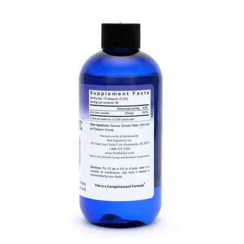 Pico-Zinc - Solución de zinc | Pico-ion de zinc líquido de la dra. Dean - 240ml
