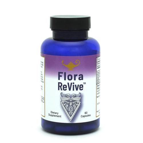 Flora ReVive - Probiótico con extractos de turba - Cápsulas