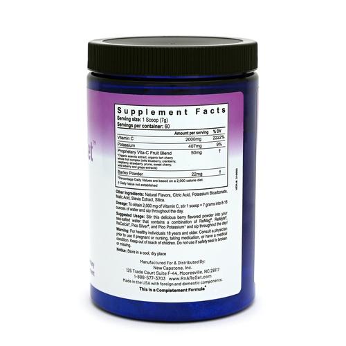 Vitamin C ReSet - Vitamina C - Bebida en polvo