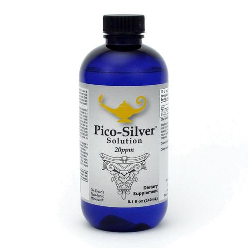 Pico-Silver Solution   Solución pico-iónica de plata de la dra. Dean - 240ml